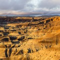 Rim of the Little Painted Desert.- Little Painted Desert