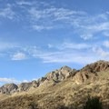 View returning from the trailhead of the Organ Mountains to the northeast. - Dripping Springs Trail