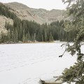 Another view of the lake. - Nambe Lake Trail