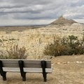Plenty of viewing opportunities with benches for everyone to enjoy.- Angel Peak National Scenic Area
