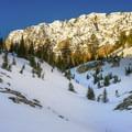 Deseret Peak.- Deseret Peak: Temple + Twin Couloirs