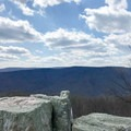 The view from Chimney Rock is spectacular.- Wolf Rock + Chimney Rock Loop