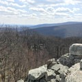 Views from Chimney Rock.- Wolf Rock + Chimney Rock Loop