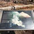 Take a moment to read about the magnificent geology of the region.- Wolf Rock + Chimney Rock Loop