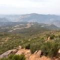 View from the summit.- Viejas Mountain