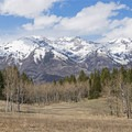 A panorama from the Tibble Fork Loop.- Tibble Fork Loop