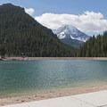 The view above Tibble Fork Reservoir.- Tibble Fork Reservoir