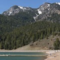 Box Elder Peak (11,101 ft).- Tibble Fork Reservoir