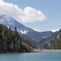 Beautiful scenery in just about every direction. - Tibble Fork Reservoir