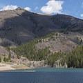 Tibble Fork Reservoir.- Tibble Fork Reservoir