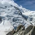 Mont Blanc.- Arête des Cosmiques