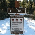 Trail restrictions.- Petty Mountain