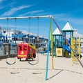 Playground at Hampton Beach State Park. - Hampton Beach State Park