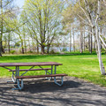 Picnic area on Peirce Island.- Peirce Island