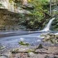 Upper Purgatory Falls.- Purgatory Falls