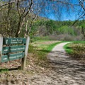 Walking path.- Squam Lakes Natural Science Center