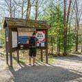 Self-service station.- Hancock Campground