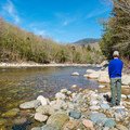 East Branch of the Pemigewasset River.- Hancock Campground