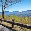 The White Mountains from the summit road.- Weeks State Park