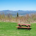 A picnic area on the back lawn offers additional views.- Weeks State Park
