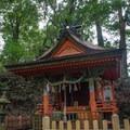 A Oji shrine on day three.- The Kumano Kodo: Nakahechi Route