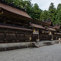 The main complex contains the shrines to various Buddhist deities. Donation boxes and bells to attract the attention of the deities stand in front. - The Kumano Kodo: Nakahechi Route