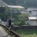 Koguchi in the morning.- The Kumano Kodo: Nakahechi Route