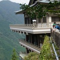 Naigachi Taisha Shrine. perched high on the mountain, it is the most spectacular of the shrines. - The Kumano Kodo: Nakahechi Route