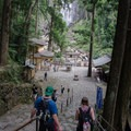 You can also walk down to the base of the waterfall for a more atmospheric view. - The Kumano Kodo: Nakahechi Route