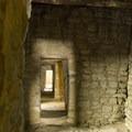 Ancient doorways.- Aztec Ruins National Monument