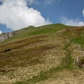 The summit of Bockmattlistock from about 15 minutes away.- Bockmattlistock