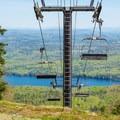 View from Mount Sunapee.- Mount Sunapee