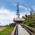 Summit lodge on Mount Sunapee.- Mount Sunapee