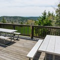 View from the Summit Lodge.- Mount Sunapee