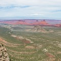A panorama that only Porcupine Rim can deliver.- Porcupine Rim