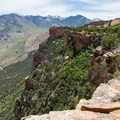 The views are eye-popping the entire way.- Porcupine Rim