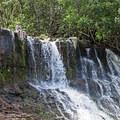 The lower falls. - Ho'opi'i Falls Trail