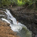 This place is too much fun!- Ho'opi'i Upper Falls
