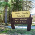 Entrance to Lincoln Woods.- Lincoln Woods Trail