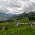 The village of Stoos, about 20 minutes after passing the town.- Fronalpstock + Klingenstock via Stoos
