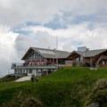 The mountain restaurant at the summit of Fronalpstock.- Fronalpstock + Klingenstock via Stoos