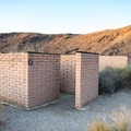 Restrooms at Borrego Palm Canyon Campground.- Borrego Palm Canyon Campground