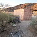 There is potable water available near many campsites.- Borrego Palm Canyon Campground