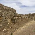 Chetro Ketl south wall.- Chetro Ketl