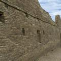 The north wall at Chetro Ketl.- Chetro Ketl