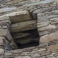 Detail of the construction at Chetro Ketl.- Chetro Ketl