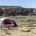 Gallo Campground at Chaco Canyon.- Gallo Campground