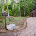 Champney Falls Trailhead.- Mount Chocorua via Champney Brook Trail