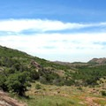 Expansive skies above the Wichita Mountains.  - Elk Mountain