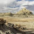 Bisti Badlands.- Bisti Badlands North of Bisti Wash